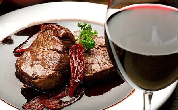 блюда для вина