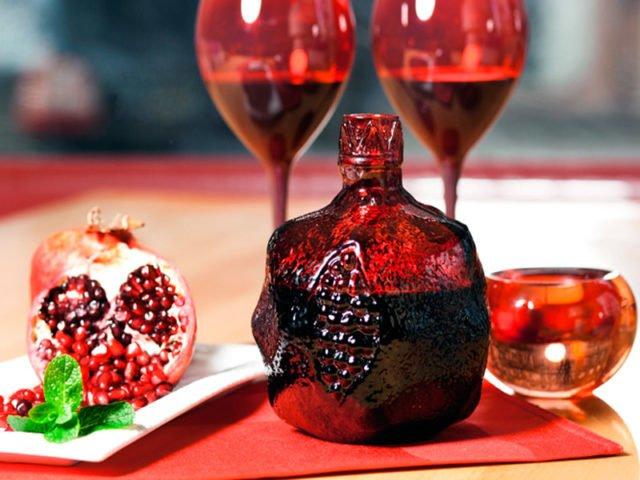 вино из граната