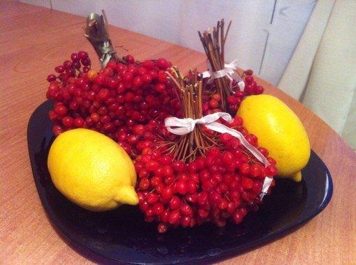 калина и лимон