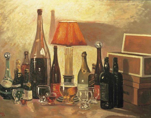 картина «Горлышко бутылки»