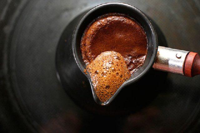 сваренный кофе