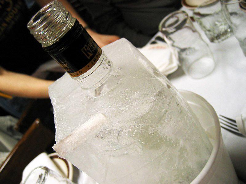 кристаллизация водки