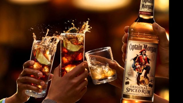 ром «Captain Morgan»