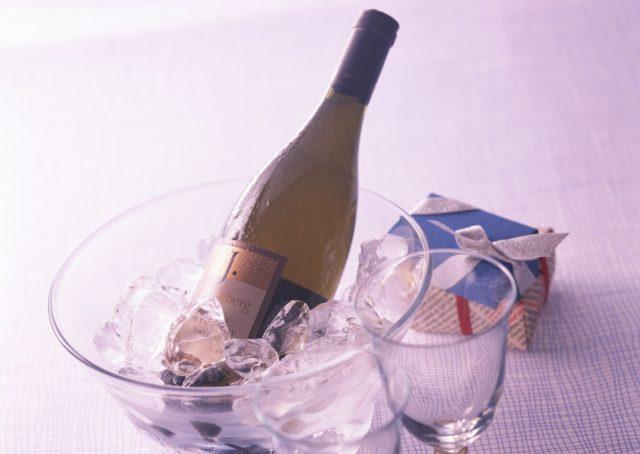 вино во льду