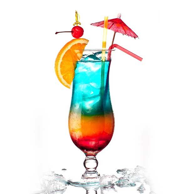 коктейль радуга