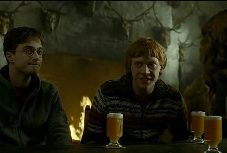 сливочное пиво и гарри поттер