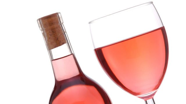 розовое вино из калины