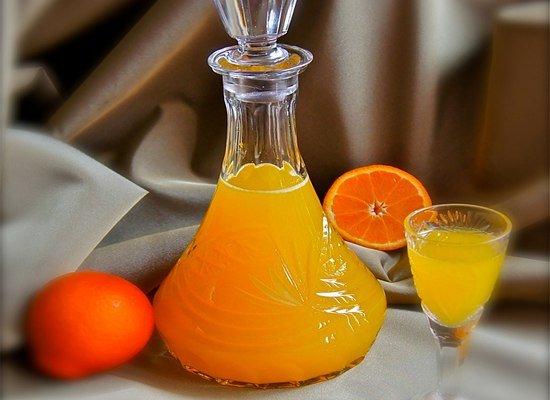 апельсиновый ликер в домашних условиях