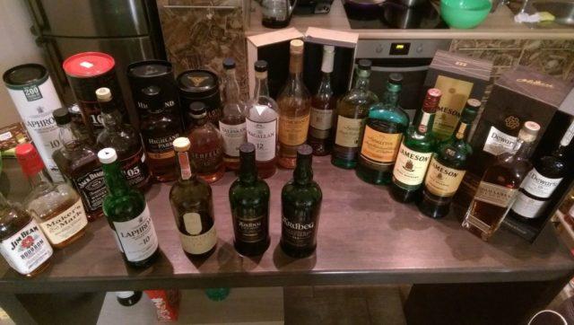 домашняя коллекция виски