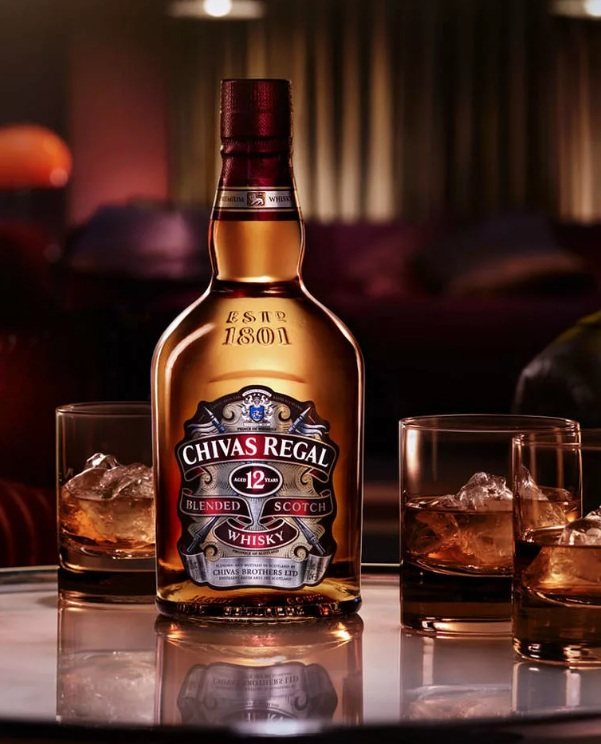 Chivas Regal 12 old