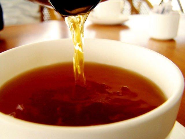 Мартини и черный чай