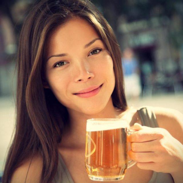 пиво для женщин