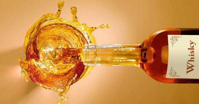 как разливают виски