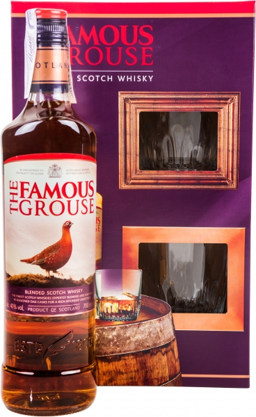 Famous Grouse & Glass