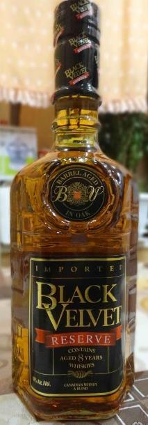 бутылка Black Velvet Reserve