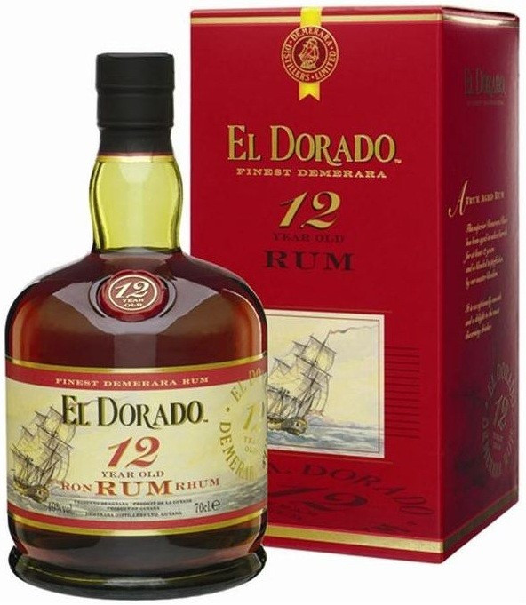 EL DORADO Finest Demerara Rum 12 Years Old