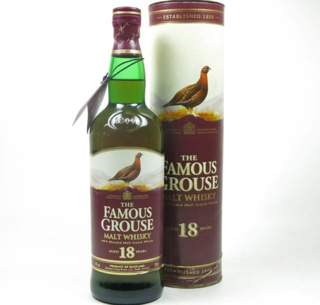 The Famous Grouse Malt 18 years