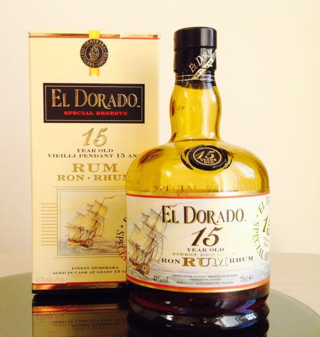 EL DORADO Special Finest Demerara Rum 15 Years Old