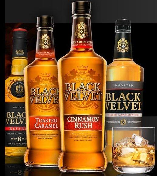 виды виски BLACK VELVET