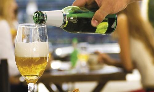 ред безалкогольного пива