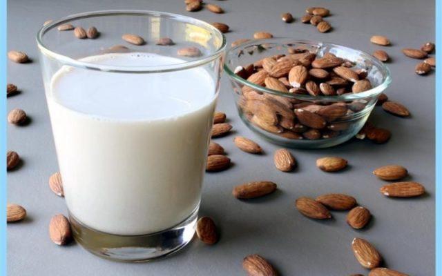 миндальное молочко