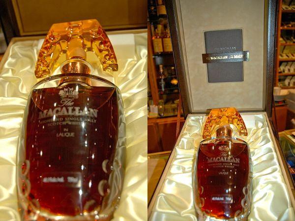 виски Macallan Lalique Crystal Decanter