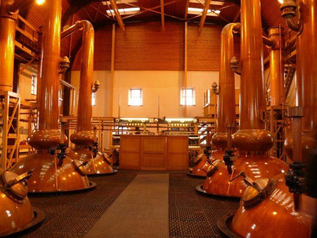 производство виски гленморанджи