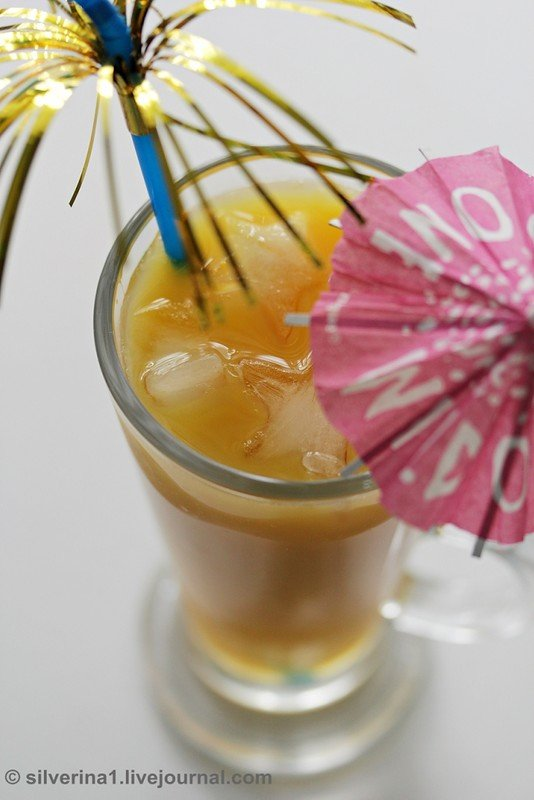 коктейль Апельсиновый вечер