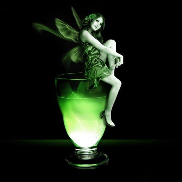 абсент - зеленая фея