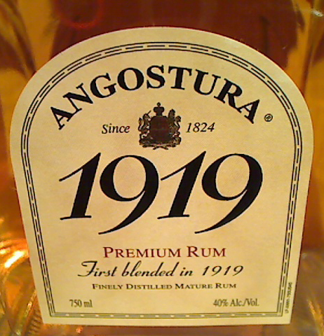 ANGOSTURA 1919 Premium Rum (8 y.o.)