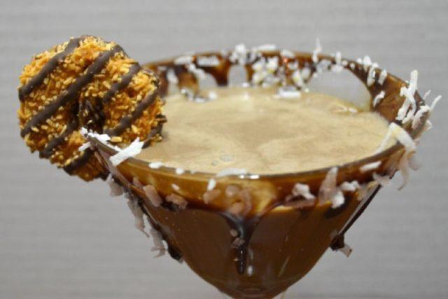 Шоколадный кокос