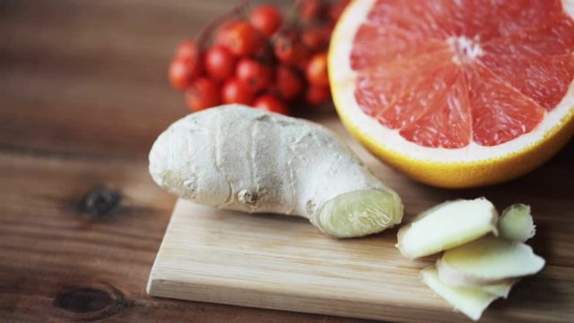 Грейпфрут и имбирь