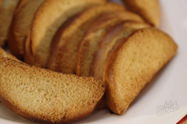 Сладкие сухарики со сливочным маслом