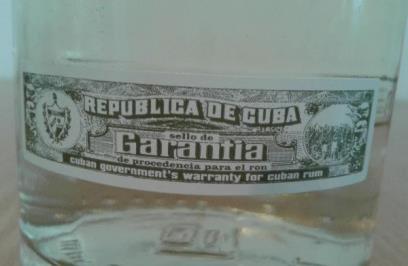 этикетка «кубинская гарантия»