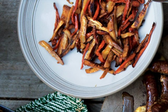 «Опаленные» морковь ипастернак