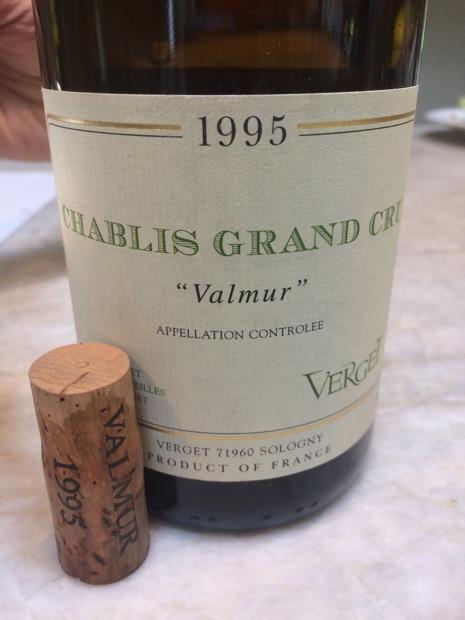 вино Шабли 1995