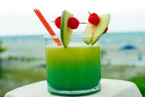 коктейль Зелёный змей