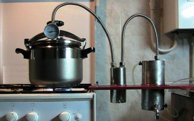 Как почистить самогонный аппарат из скороварки