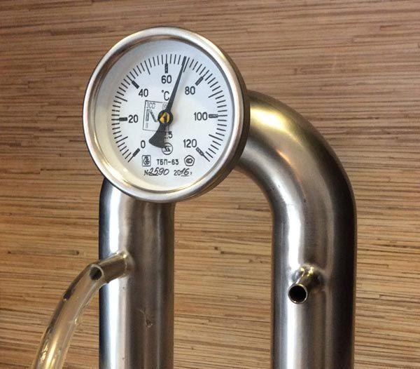 Для чего нужен термометр на самогонный аппарат самогонный аппарат с фильтрами отстойник