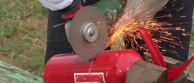 Дымогенератор из огнетушителя: пошаговая инструкция