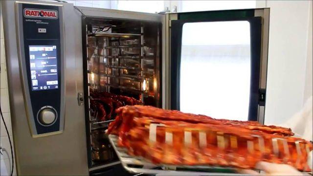 Копчение в пароконвектомате горячим и холодным способом