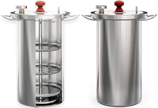 Коптильни Zolinger: разновидности, устройство, инструкция по работе