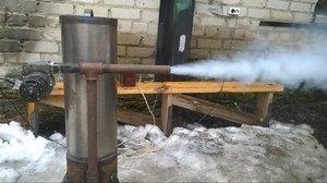 Копчение продуктов с фрикционным дымогенератором, как работает