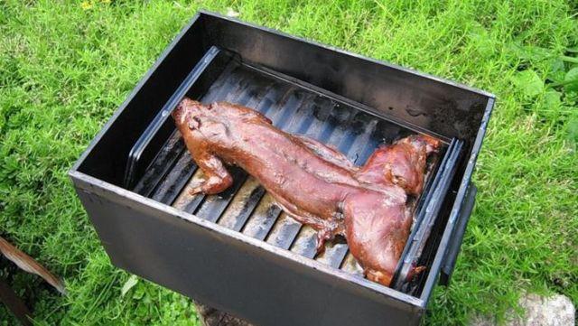 Как закоптить зайца в домашних условиях, опыт поваров-любителей