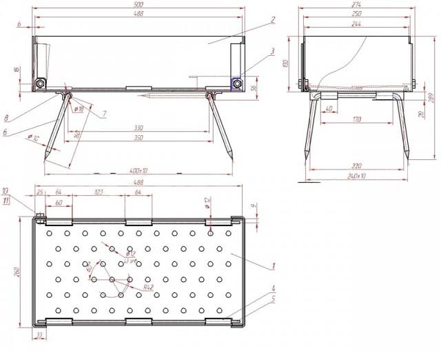 Коптильни Теремок: конструкция, обзор основных моделей